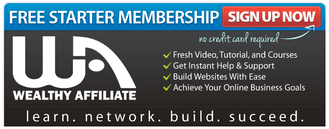 No up-sells in Wealthy Affiliate!